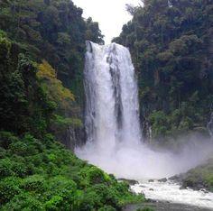 Maria Cristina Falls (98m high) of Iligan City, Lanao del Norte Philippines