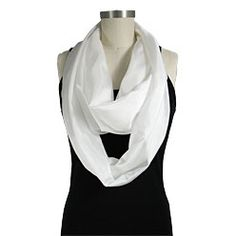 Machine Hemmed 8mm Habotai Circle Scarves are here!   21 in x 76 in Circle
