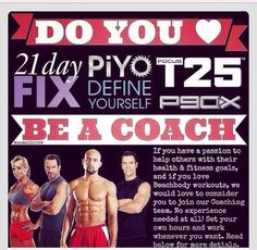 #makeadifference love the Beachbody products ?! Why not make some extra income while helping  others reach their goals .. Contact me for more details beachbodycoach.com/jessmolina