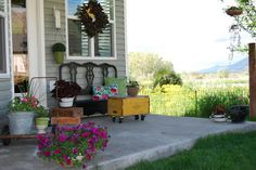 ChiKKaBoom Decorating Decor Decorate: Picture Perfect Porch Ideas...