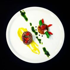 Rolled beef corn puree potato cake string bean green verde sauce #top_food_of_instagram #theartofplating #instafoods #photoday #photooftheday #pullmanjakartacp #amazing #disney #dinner #dontshoothechef #dailyfoodfeed #foodholiday #foodshare #food #foodporn #foodie #foodgasm #foodstarz #foodknockout #foodandwine #gastronomy #gastropost #gourmetartistry #hotelier #jwmarrtiottjkt #chefsroll #cheftalk #chef #cheflife #chefs by edy_kriswanto