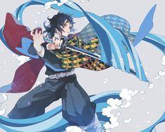 Tomioka Giyuu - Kimetsu no Yaiba - Image - Zerochan Anime Image Board Manga Anime, Anime Demon, Anime Art, Demon Slayer, Slayer Anime, I Love Anime, Anime Guys, Gekkan Shoujo Nozaki Kun, Natsume Yuujinchou