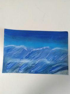 Pastel ocean waves 4/21/16