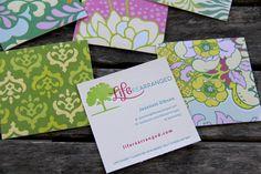 Blog Letterpress Business Cards