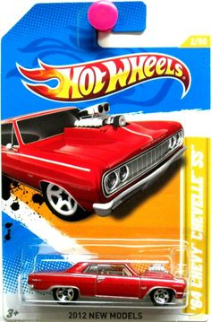 1964 Chevy Chevelle SS Hot Wheels 2012 New Models #2/50 Red