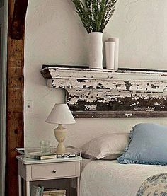 Decorating With White In A Rustic Shabby Chic Bedroom | Rustic Crafts & Chic Decor