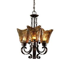 Check out the Uttermost 21008 Vetraio 3 Light Chandelier in Oil Rubbed Bronze priced at $316.80 at Homeclick.com.