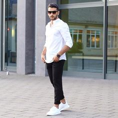 33 simple winter men outfits with sneakers 2018 etw мужская Mens Fashion Casual Shoes, Mens Fashion Blazer, Mens Fashion Blog, Best Mens Fashion, Fall Fashion Outfits, Men Casual, Winter Outfits, Men's Fashion, Mens Clothing Styles