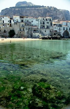 Cefalu Sicily Harbour Italy