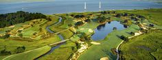 The beautiful Seaside Course at Sea Island, Georgia.  Home of the 2013 McGladrey Classic.