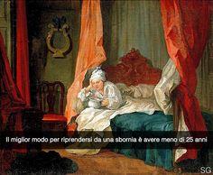 Aggiungimi su Snapchat nuove storie ogni giorno: stefanoguerrera Francis Matthew Schutz nel suo letto - William Hogarth (1755) #seiquadripotesseroparlare #stefanoguerrera