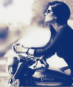Royal enfield world Bike Photography, Fashion Photography Poses, Portrait Photography, Girl Photo Poses, Girl Poses, Picture Poses, Stylish Girls Photos, Stylish Girl Pic, Bike Photoshoot