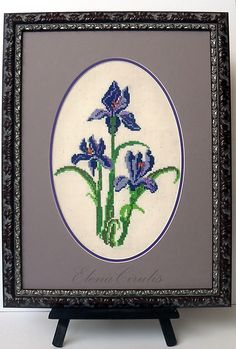 э My Works, Embroidery, Needlepoint, Crewel Embroidery, Embroidery Stitches