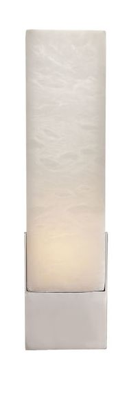 KELLY WEARSTLER   COVET TALL BOX SCONCE. Alabaster stone set in Antique Burnished Brass, Aged Iron or Polished Nickel
