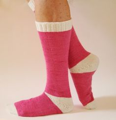 Sling Heel Socks - VeryPink offers knitting patterns and video tutorials from Staci Perry. Short technique videos and longer pattern tutorials to take your knitting skills to the next level.