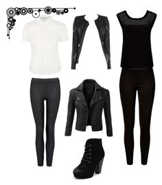 """""""*63"""" by marigonzalez1d ❤ liked on Polyvore featuring Forever New, Doublju, Therapy and Allegra"""