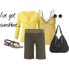 """I've got sunshine..."" by sapple324 on Polyvore"
