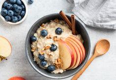The Oatmeal, Savory Oatmeal, Oatmeal Porridge, Apple Oatmeal, Easy Porridge Recipes, Healthy Oatmeal Recipes, Apple Recipes, Breakfast For Kids, Best Breakfast