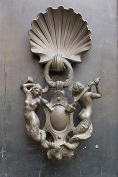 Door knocker, Italy, Rome