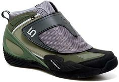 Diddie Schneider: A chainsaw resistant shoe designed for both biking and trail building.