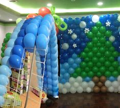 9 holes Balloon Grid with 9 pcs 5 inch balloons