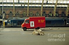 The old St. Pancras station by David Davies David Davies, British Rail, British Isles, Old London, North London, Old Lorries, London History, Train Pictures, London Transport