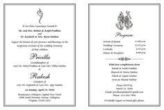 Wedding invitation card wordingswedding card wordingswedding hindu wedding cards wordings stopboris Image collections