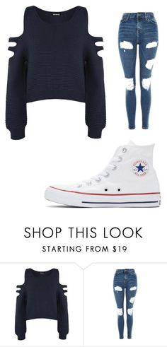 """Untitled #778"" by alanawedge59 on Polyvore featuring WearAll, Topshop and Converse"