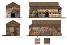 "Conservation, Restoration and Adaptation of Church ""St. Paraskeva"",Elevation"