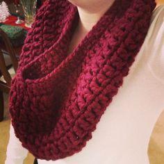 FREE FREE FREE 60 min crochet cowl pattern from Sadie's Basket!