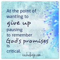 I'm guessing you've been there before- that point of giving up hope. That point where your heart fails and you truly believe that it is going to come to a dead stop. Either due to weariness or hurt or anger or a cornucopia of feelings so intertwined that you have no explanation....