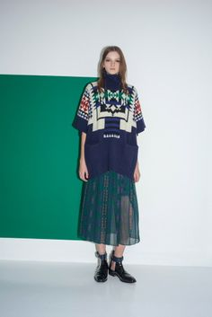 Pre-Fall 14 By Designer Sacai Luck
