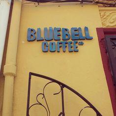 rótulo bluebell coffee