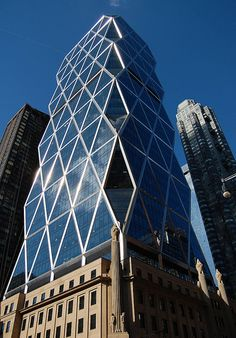 Hearst Tower | architectural design by Sir Norman Foster and Partners