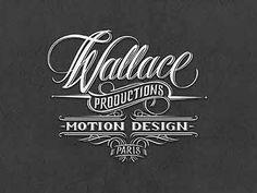 Wallace Motion Design Logo by Mateusz Witczak