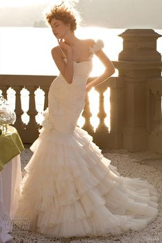 jillian wedding dresses 2013 mermaid bridal gown