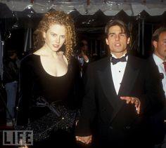 Nicole Kidman and Tom Cruise  - 1990