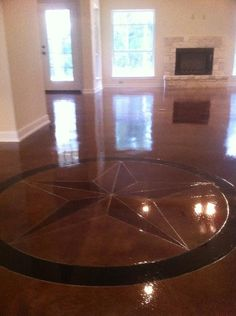 How to make a stained concrete floor shine stained for How to make concrete floors shine