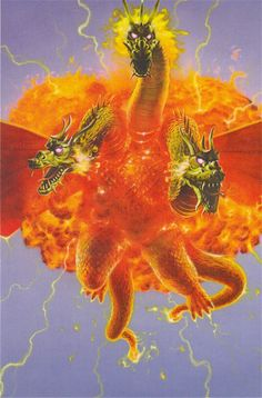 """King Ghidorah's name is composed of """"King"""" (キング Kingu?) and """"Ghidorah."""" The """"Ghidorah"""" part of King Ghidorah's name comes from the Japanese word for """"hydra"""" (ヒドラ Hidora), which is spelt very similarly to the Japanese katakana for Ghidorah. He wasn't referred to as """"King Ghidorah"""" in an original American release of one of his movies until Godzilla vs. Gigan."""