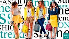 Chegou a hora das tendências da moda feminina para a primavera/verão 2017. Slip Dress, Tons terrosos, Oversize, Maxi calças, Ciganinha,Tunica