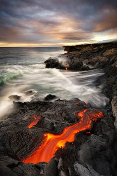 Kilauea , Hawaii, USA Terra… not so Firma by Bruce Omori