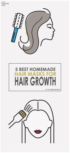 5 Best Homemade Hair Masks for Hair Growth.