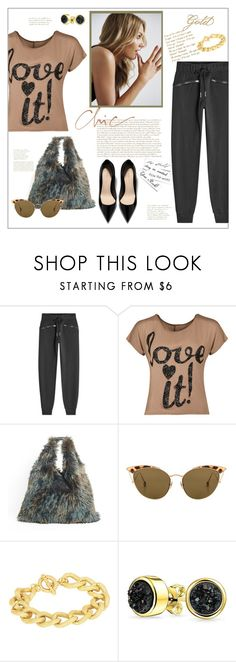 """""""Casual dress up"""" by frenchfriesblackmg ❤ liked on Polyvore featuring adidas, WearAll, MM6 Maison Margiela, Ahlem, Adele Marie and Bling Jewelry"""