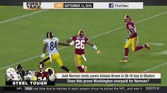 ESPN First Take September (9-13-2016) - Did Washington Redskins Overpay ...