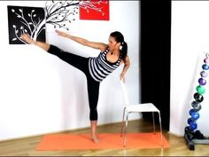 FREE BARRE LOWER BODY WORKOUT - Stretch Sculpt Lower BARLATES BODY BLITZ - YouTube