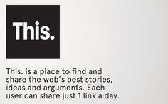 This. je nová sociální síť, která chce jít jiným směrem. Myslíš, že stojí za vyzkoušení