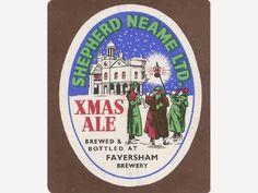 christmas beer etikets