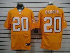 21fbbfd1d Nike Buccaneers  20 Ronde Barber Orange Alternate Men s Stitched NFL Elite  Jersey Jersey Nike