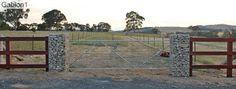 gabion gate columns http://www.gabion1.com.au