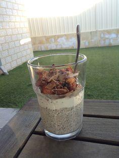 Coconut chia yogurt